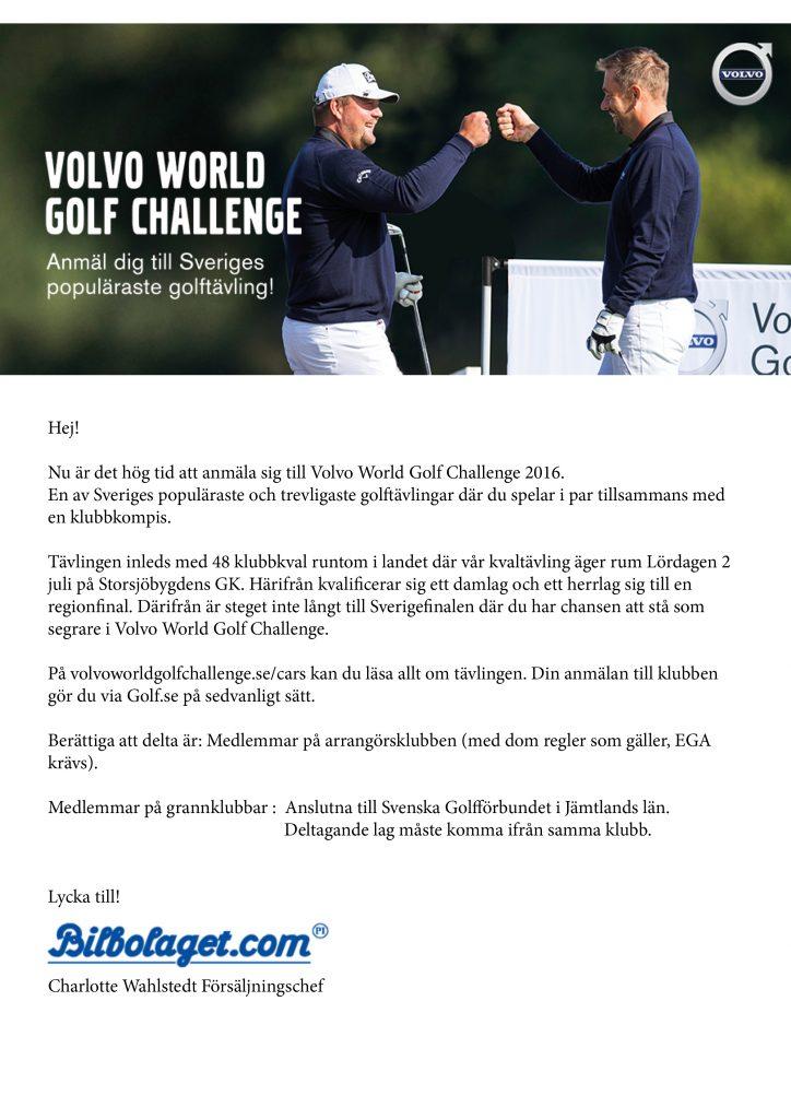 Volvo World Challange